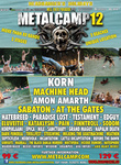 Metalcamp 2012 Poster