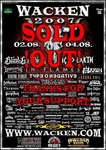 Wacken Open Air 2007 Poster